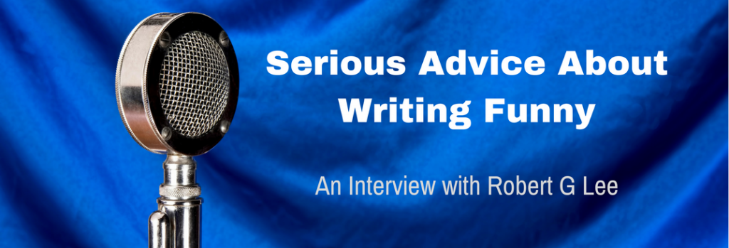 Episode 026I Serious Advice About Writing Funny