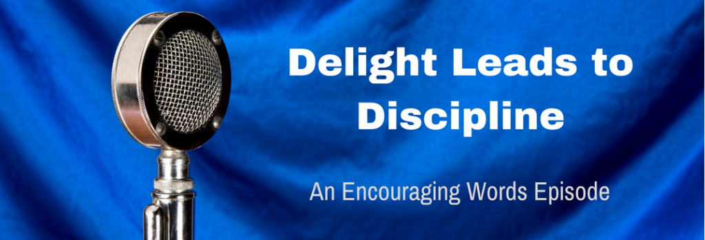 Episode 063E Delight Leads to Discipline