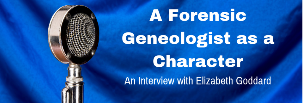 Episode 131I A Forensic Genealogist as a Character