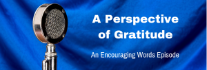 Episode 152E A Perspective of Gratitude